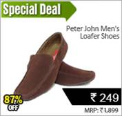 Peter John Men's Loafer Shoes at Rs 249 only