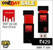 Strontium 16 GB Pen Drive at Rs 429 only
