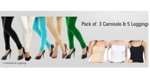 Women's Cotton leggings With Camisole at Rs 594 only