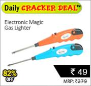 Electronic Magic Gas Lighter at Rs 49 only