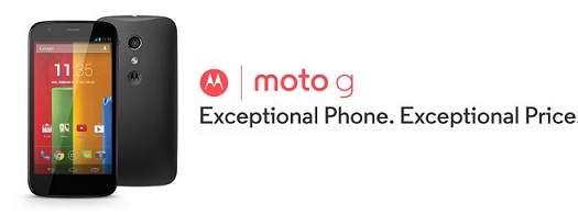 Motorola MOTO G from FLIPkart for Rs. 12499