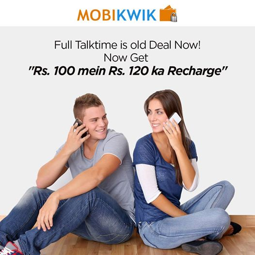 Mobikwik. com independence day Offer- Get Rs. 20 Cashback instantly on adding Rs. 100 in Mobikwik wallet at Mobikwik. com, valid till 15 Aug 2014