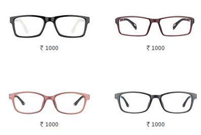 eye frame rs 1 only applicable with lens package only or upto 50